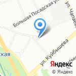 Центр контроля качества товаров (продукции) на карте Санкт-Петербурга