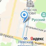 Ампир на карте Санкт-Петербурга