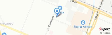 Le Grand на карте Санкт-Петербурга