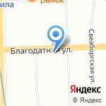 МЕТРОКОН на карте Санкт-Петербурга