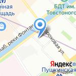 ДЕНТАЛИКА на карте Санкт-Петербурга