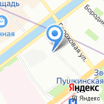 Марсель Тур на карте Санкт-Петербурга