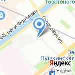 МонПлезир на карте Санкт-Петербурга
