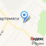 Агалатовская средняя общеобразовательная школа с дошкольным отделением на карте Санкт-Петербурга