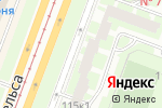 Схема проезда до компании Фрамир в Санкт-Петербурге