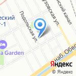 Ленсвет на карте Санкт-Петербурга