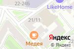 Схема проезда до компании АВК Груп в Санкт-Петербурге