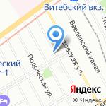 Дорпроект Плюс на карте Санкт-Петербурга