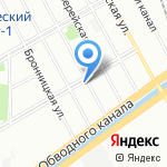 Детский сад №101 на карте Санкт-Петербурга