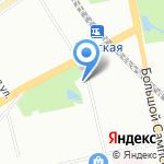 Противотуберкулезный диспансер №11 на карте Санкт-Петербурга