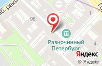 Схема проезда до компании Центр Перспективных Исследований в Санкт-Петербурге