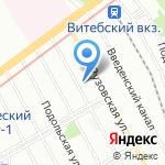 Ателье мужской одежды на карте Санкт-Петербурга