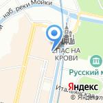 Акакао на карте Санкт-Петербурга
