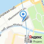 3 МостА на карте Санкт-Петербурга