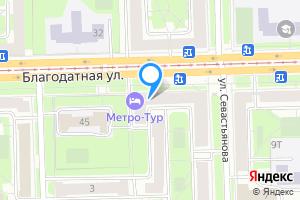 Сдается комната в однокомнатной квартире в Санкт-Петербурге Благодатная ул., 47