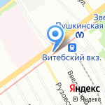 СМТ на карте Санкт-Петербурга