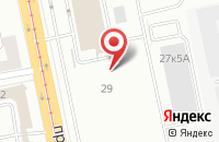 Схема проезда до компании Петростройкаскад в Санкт-Петербурге