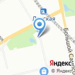 Межрайонный Петроградско-Приморский противотуберкулезный диспансер №3 на карте Санкт-Петербурга