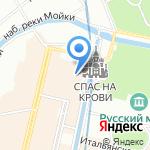 Хрустальный дракон на карте Санкт-Петербурга