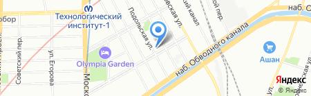 Пиво у Юрьича на карте Санкт-Петербурга