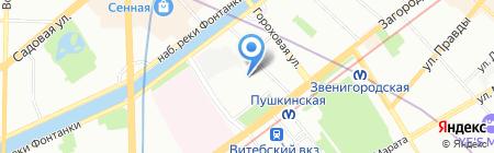 Морские Биоресурсы на карте Санкт-Петербурга