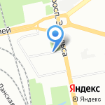 Постсервис Стандарт на карте Санкт-Петербурга