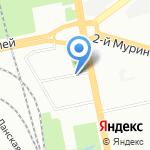 Бегуновъ на карте Санкт-Петербурга