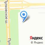 Тепло-Арт Нева на карте Санкт-Петербурга