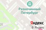 Схема проезда до компании Стимул Стиль в Санкт-Петербурге