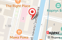 Схема проезда до компании Звезда в Санкт-Петербурге