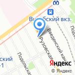 Русский Дизайн Северо-Запад на карте Санкт-Петербурга