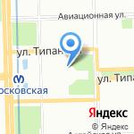 ФИБРИТ на карте Санкт-Петербурга