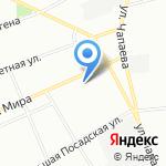 Полихим на карте Санкт-Петербурга