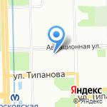 ТКТ TV на карте Санкт-Петербурга