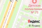 Схема проезда до компании Твое бельё в Санкт-Петербурге