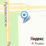 Дедушка Фу на карте Санкт-Петербурга