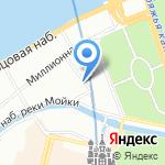 Ависта на карте Санкт-Петербурга