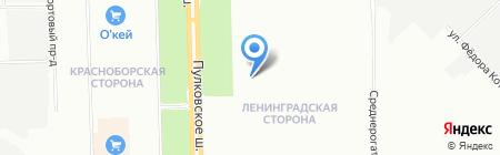 Шетелиг Рус на карте Санкт-Петербурга