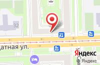 Схема проезда до компании Хуанди в Санкт-Петербурге