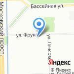 Minizoomarket на карте Санкт-Петербурга