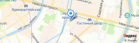 Альфа-Тур на карте Санкт-Петербурга