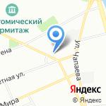 Детский сад №91 на карте Санкт-Петербурга