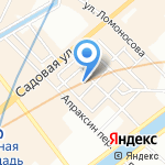 Валерия на карте Санкт-Петербурга