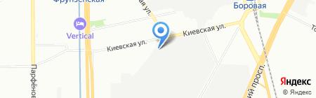 Стул и Стул на карте Санкт-Петербурга