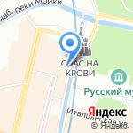 ТЕЛЕКОМ на карте Санкт-Петербурга