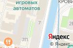 Схема проезда до компании Legend Fight Club в Санкт-Петербурге
