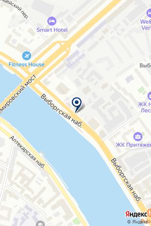 МОНТАЖНОЕ ПРЕДПРИЯТИЕ РЕМЭНЕРГО на карте Санкт-Петербурга