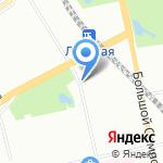Мавитек на карте Санкт-Петербурга