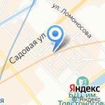 Витаторг на карте Санкт-Петербурга