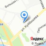 Магазин на карте Санкт-Петербурга